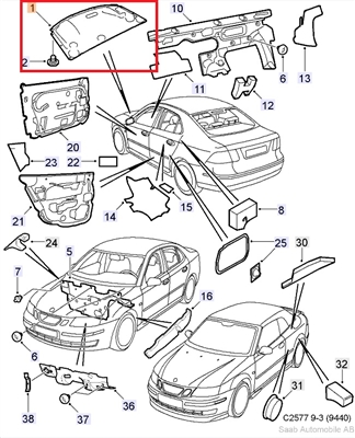 Saab Usa Parts together with 1996 Saab Wiring Diagrams also Saab 9 3 Vin Number Location moreover Horn Wiring Diagram 1989 Gmc likewise Saab 9 2x Parts Diagram. on saab 900 fuse diagram