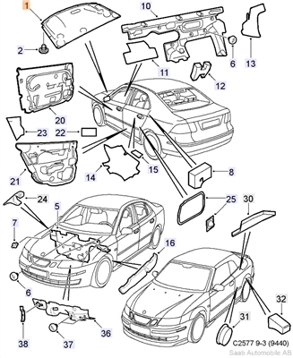 Saturn L300 Wiring Diagram also Saab 99 Wiring Diagram further 2002 Mazda 626 Radio Wiring Diagram moreover Engine Car Parts Steering together with Volkswagen O2 Sensor Location. on wiring diagram for 02 saab 9 3