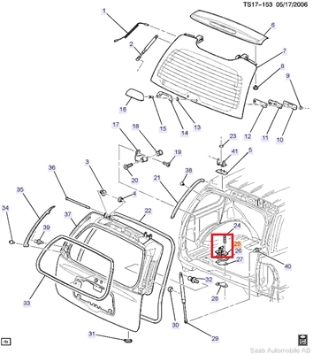 99 Saab 9 3 Parts Diagram