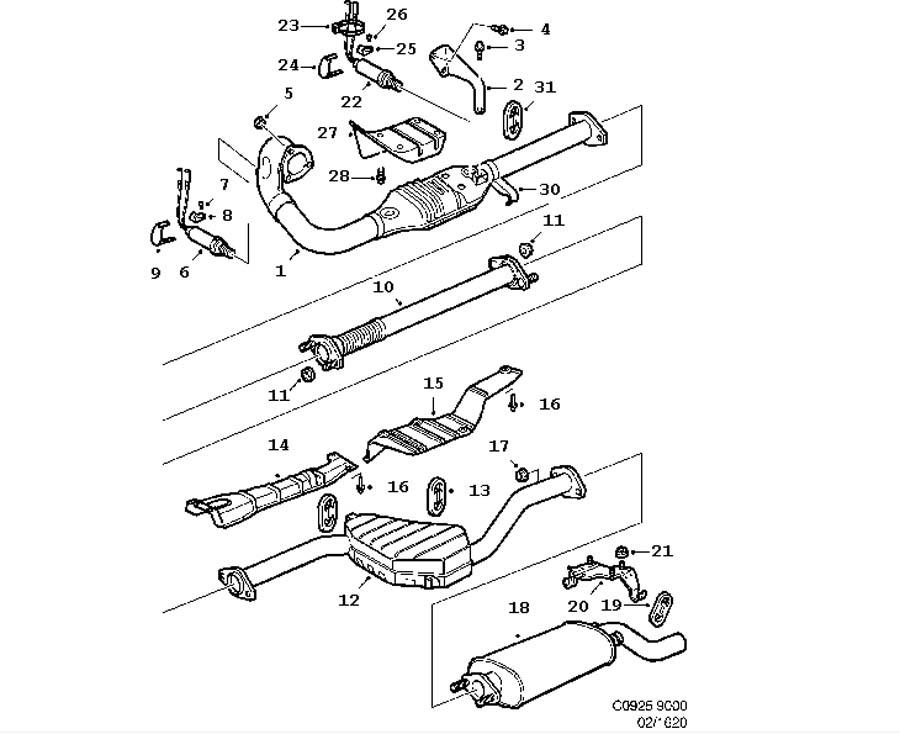 2001 saab 9 3 vacuum line diagram