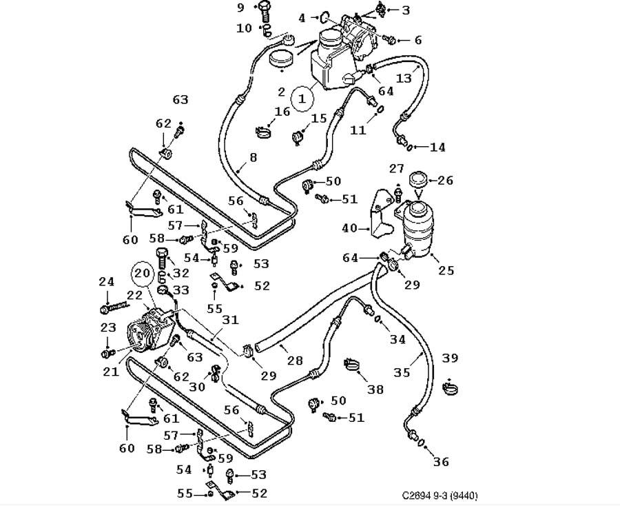 steering device  hydraulic pump  hoses 4 door convertible 5 door