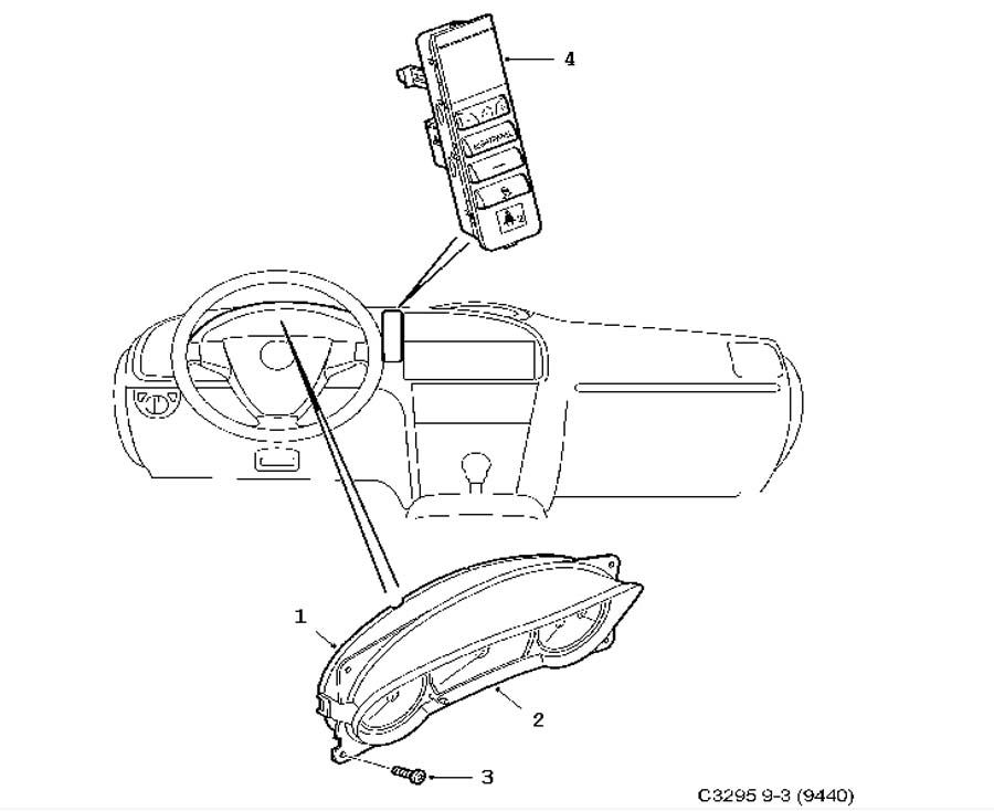 2005 chrysler crossfire parts diagram