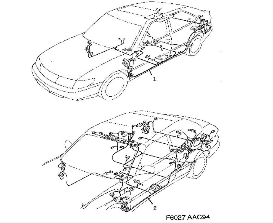wiring and fuses  rear 1997 Saab 9000 Diagram Saab Electrical Wiring Diagrams