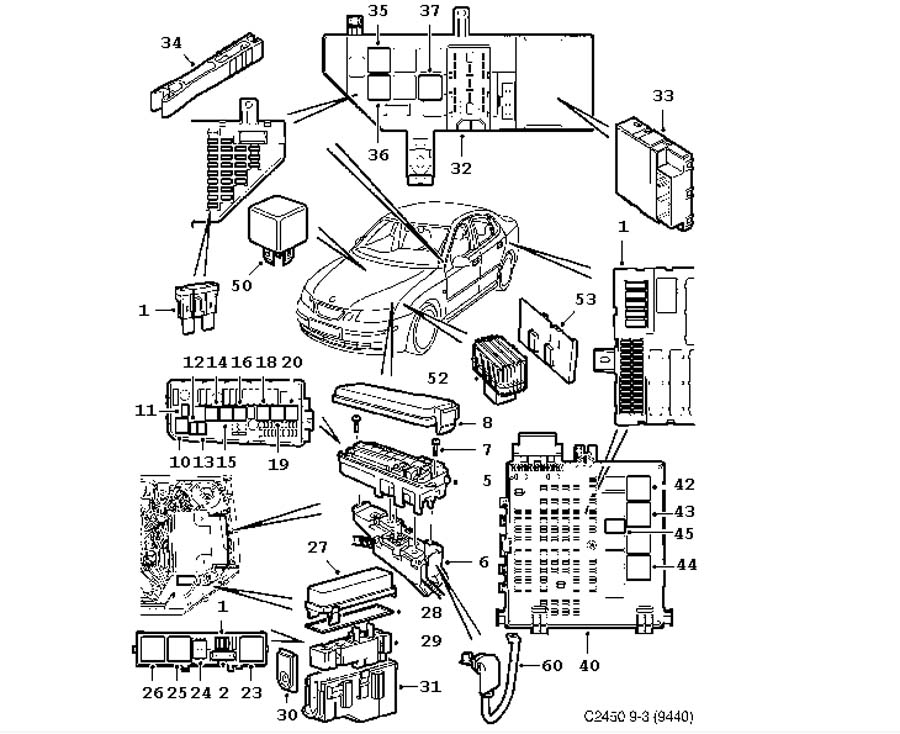 saab 900 2 0 engine diagram