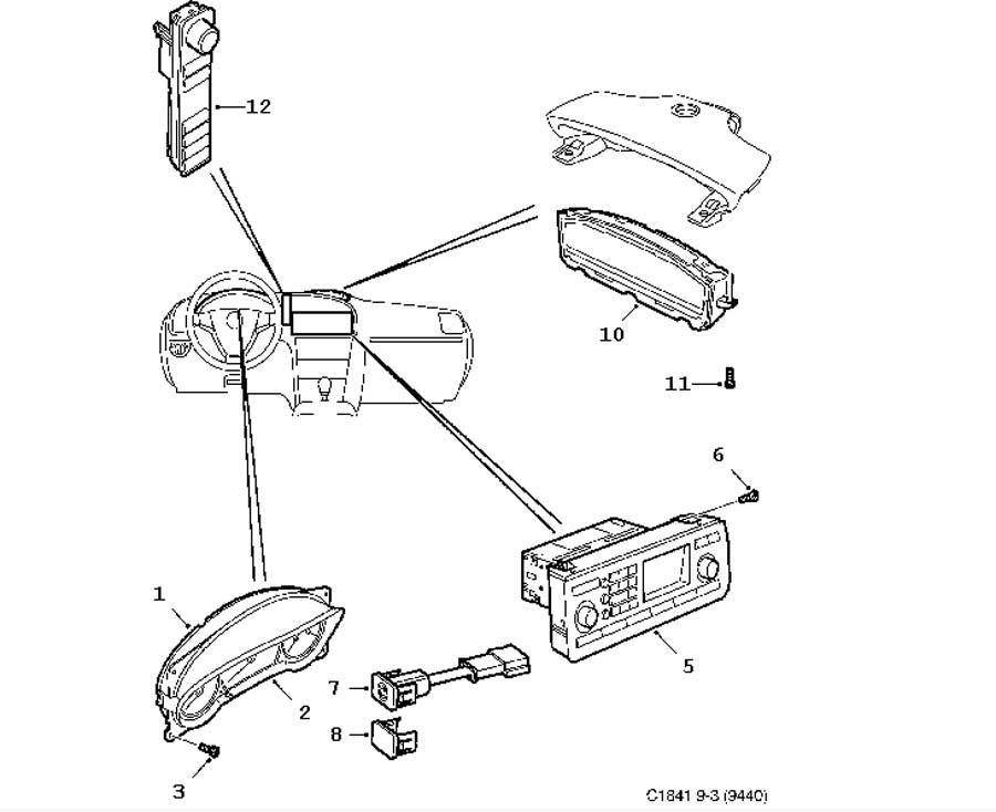 Wiring And Fuses  Instrument 4 Door Convertible
