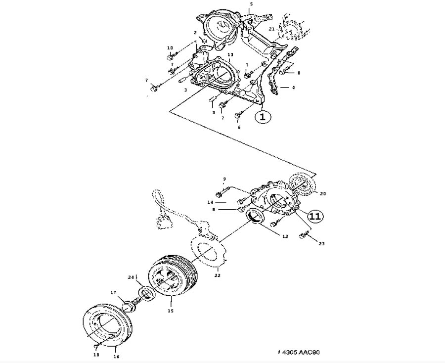 Autolite 4100 Exploded View ep 471 furthermore Crank Sensor Location 68932 besides Base additionally Basic Sensors Diagnostics moreover Corvette Rear Suspension Alignment. on saab engine cover