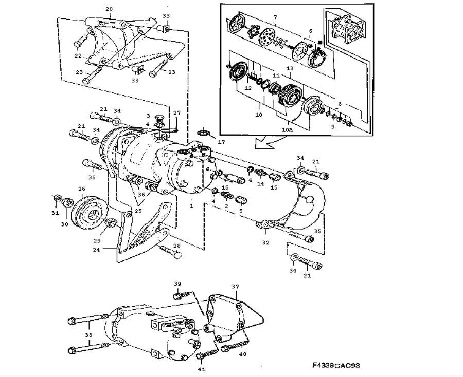 heating and ventilation  ac compressor  r12