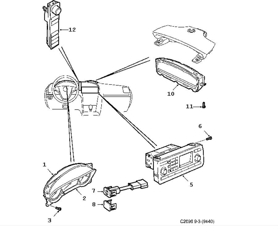 wiring and fuses  instrument 4 door 5 door convertible