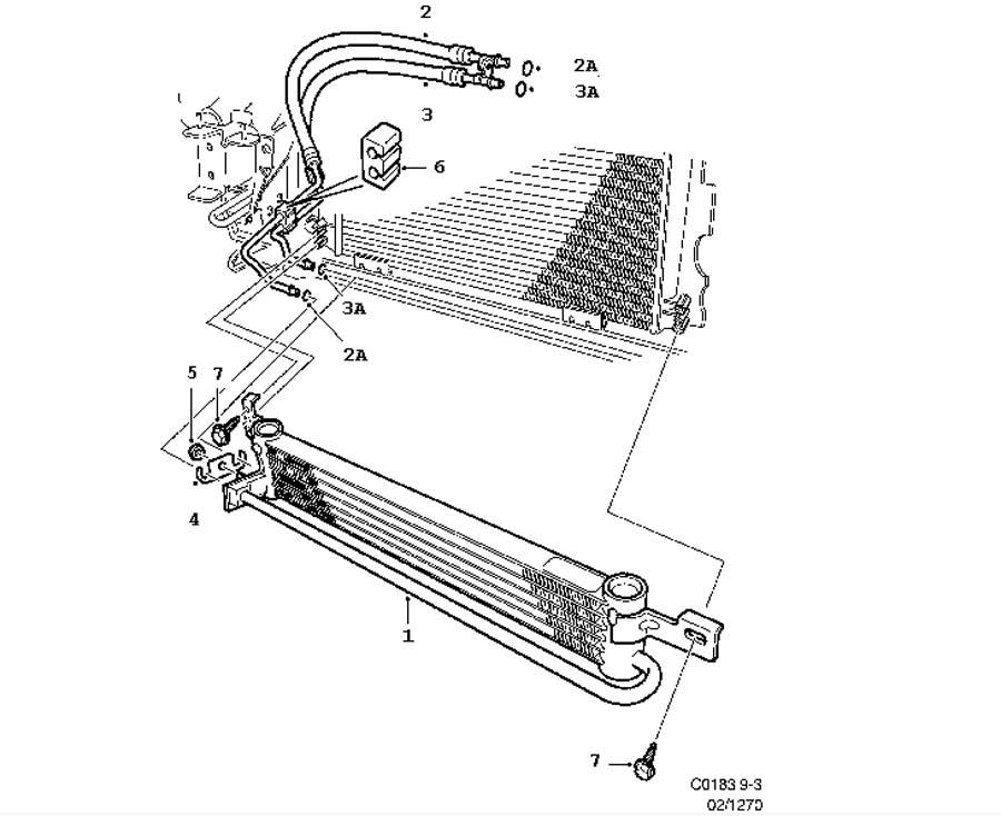 cooling system  air oil cooler  engine