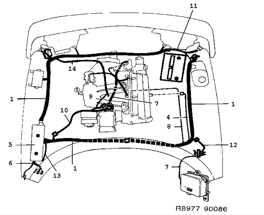 saab 92x engine diagram