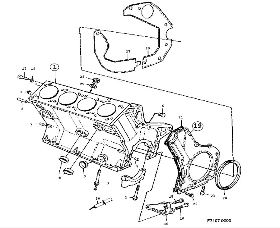 service manual  how to replace 1984 ford escort coolant