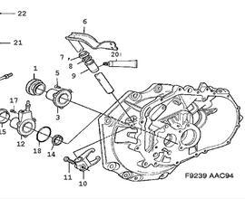 Saab 9 7x Transmission