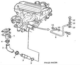 Saab 9 3 Auspuff moreover 9186107 together with 2009 Jaguar Xj8 Serpentine Belt Diagram further 9188665 as well Saab 9000 P Diagram. on saab 900 turbo 1998