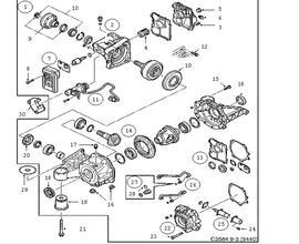 saab transmission parts