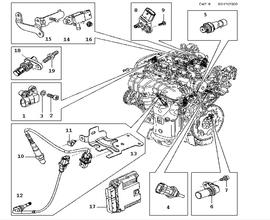 T23217764 Reset ecu mitsubishi triton ml 4m41 besides Nissan Maxima 1992 Nissan Maxima Fuel as well 2000 Mercury Grand Marquis Parts Diagram moreover Dodge Grand Caravan Ac Pressure Switch Location as well RepairGuideContent. on 1996 plymouth voyager engine oil system