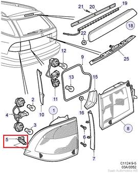 Saab 9 2x Parts Diagram on volvo penta gauge wiring diagram