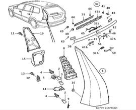 Oldsmobile Bravada Parts Diagram