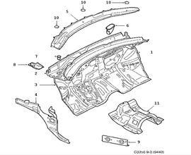 Cdcffc E C Cb A E D Bfed B on Saab Body Parts 9 3