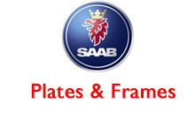 Saab Plates and Frames