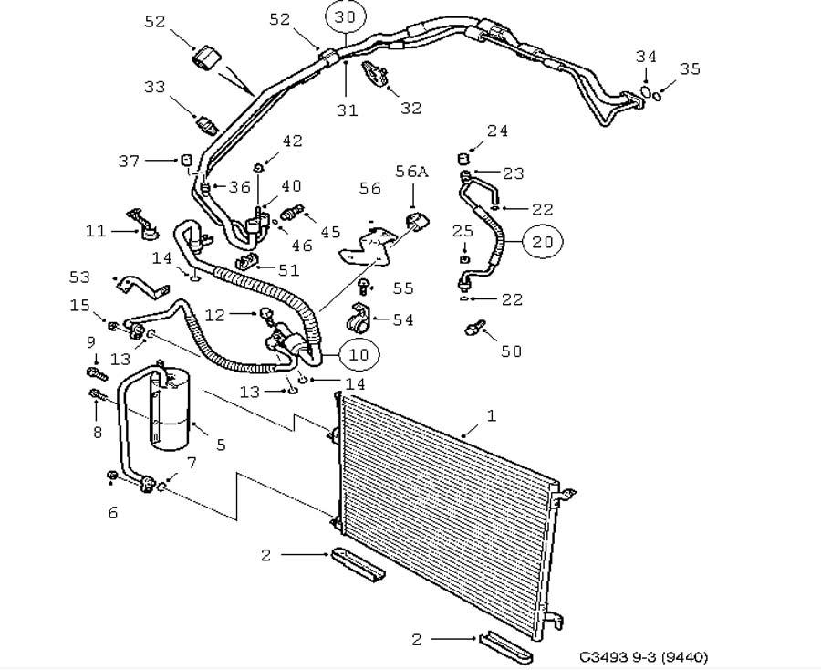 heating and ventilation  ac condenser 4 door convertible 5