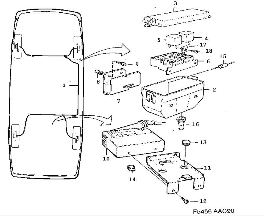 Volvo 740 Headlight Wiring Diagram