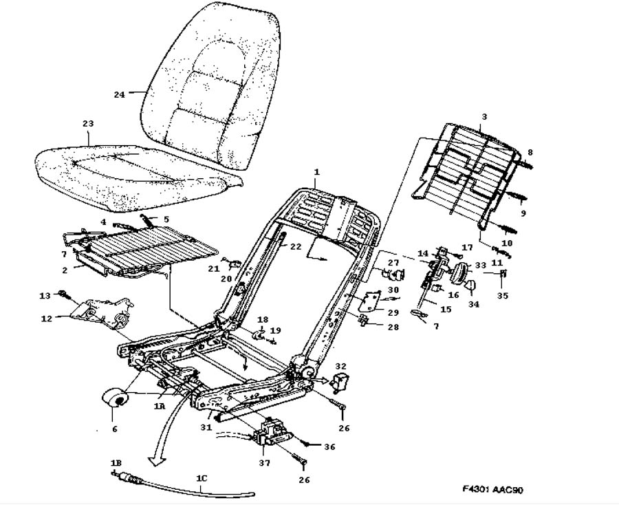 Other Interior Equipment Front Seats Part 2 Electrically Adjustable