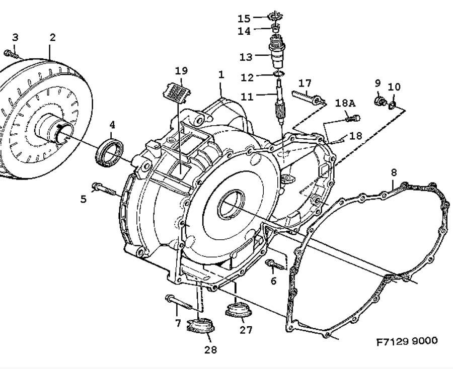 Gear Box Automatic Converter Shell Torque Converter Automatic