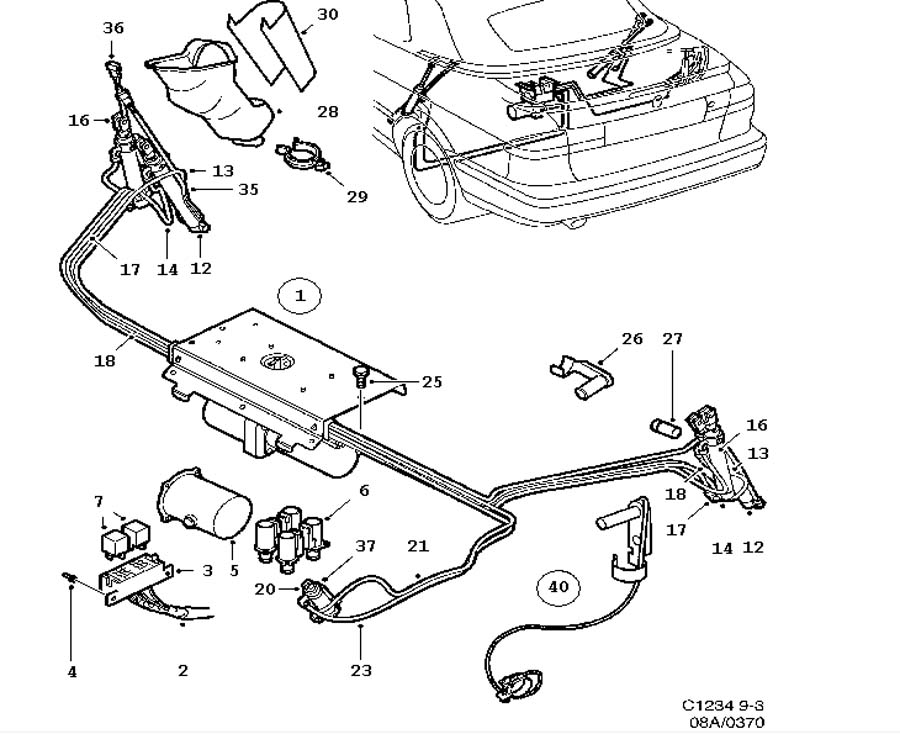 car body  hydraulic system  convertible convertible