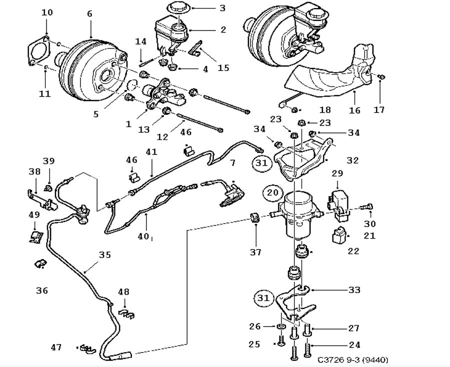 Saab 9 3 Door Diagram: 1997 Honda Prelude Stereo Wiring Diagram At Galaxydownloads.co