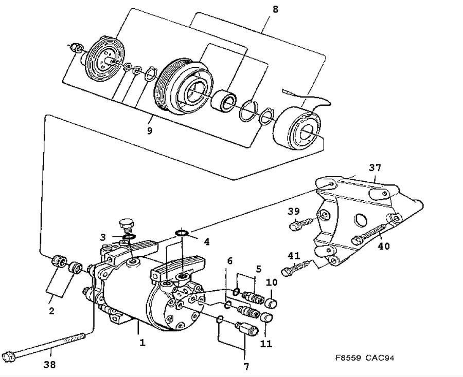 heating and ventilation  ac compressor  sanden