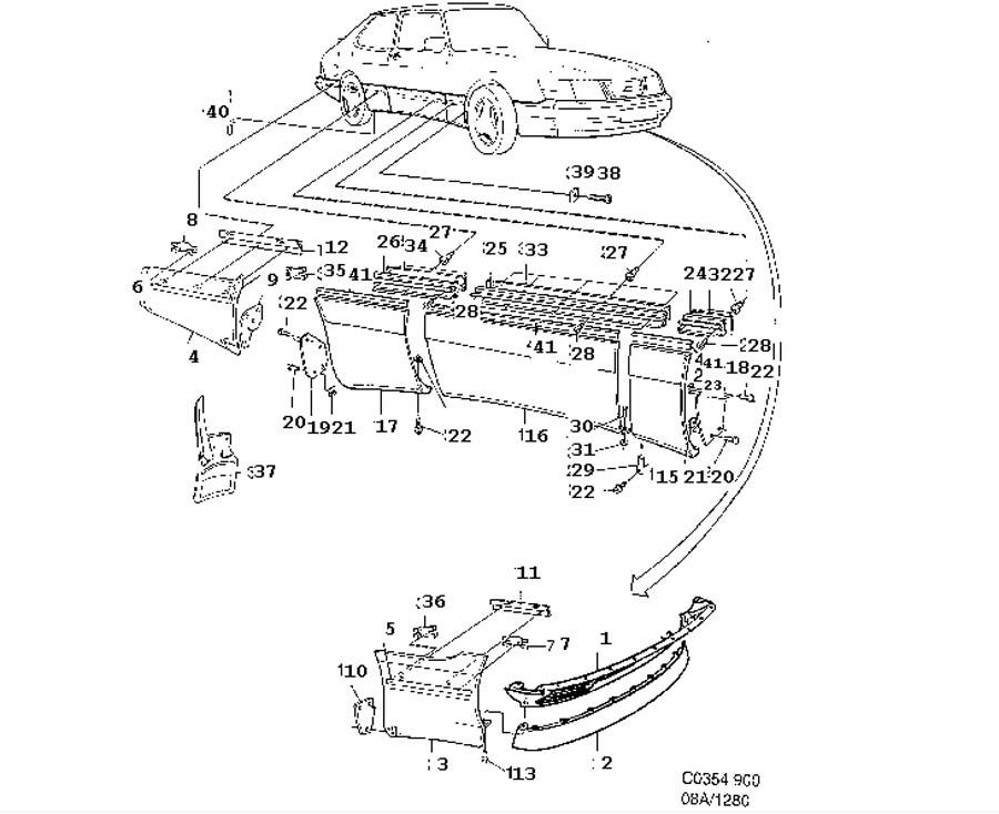 1992 saab 900 wiring diagram
