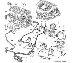 saab 9 5 sedan parts rh saabusaparts com 1999 saab 9-3 engine diagram saab 9-3 engine compartment diagram
