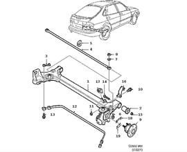 Stabilizer bar.(900 1994)[4482535]