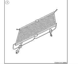 Load securing net.(9-5 1998-2011)[32025572]