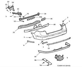 Saab 9 3 Rear Suspension Diagram moreover 365604 further 404704 as well Manual De Mecanica Y Taller Jeep Grand Cherokee Wj 1999 2002 2003 2004 furthermore 2009 Hyundai Veracruz Problems. on 2003 saab 9 3 rear bumper