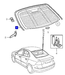 REARWINDOW window decor strip ('03 '11 93 ss)[12789697] 2009 saab 9-3 fuse box diagram at alyssarenee.co