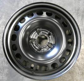 Saab 9-3 Black Painted Steel Wheel[13184138]