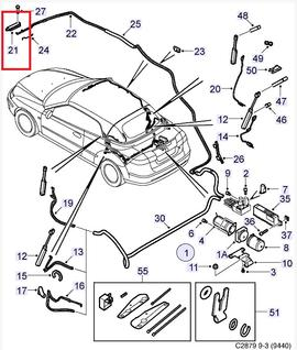 convertible top parts hydraulics rh saabusaparts com saab parts diagram 9-5 saab 900 parts diagram